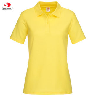 polo donna st3100 YELLOW
