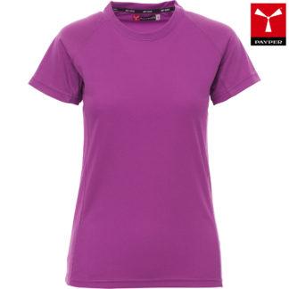 tshirt tecnica runner lady donna VIOLET