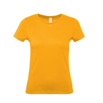 tshirt donna bctw02t apricot ap220