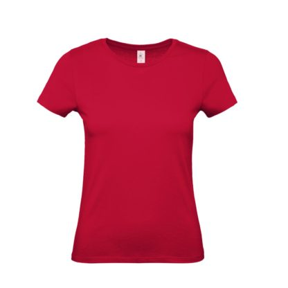 tshirt donna bctw02t deepred dr371