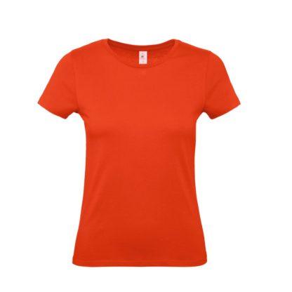 tshirt donna bctw02t firered fr007