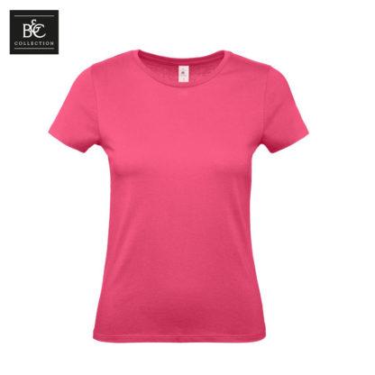 tshirt donna bctw02t fuchsia fu310