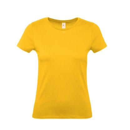 tshirt donna bctw02t gold go210