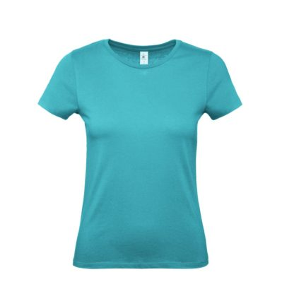 tshirt donna bctw02t realturquoise rt733