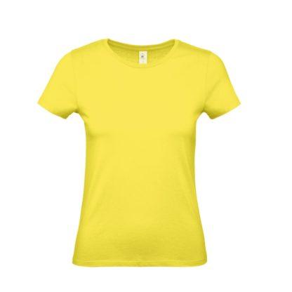 tshirt donna bctw02t solaryellow sy201