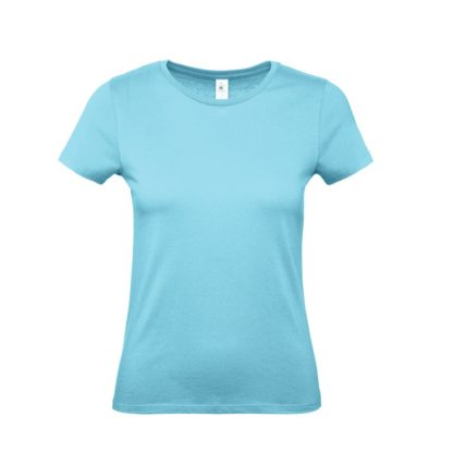 tshirt donna bctw02t turquoise tu440
