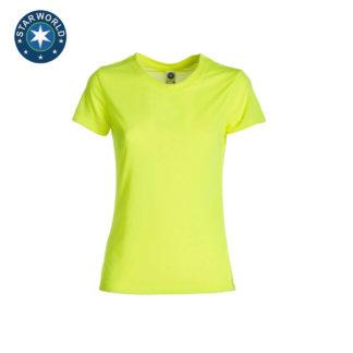 tshirt donna ladyperformanceTshirt FLUOYELLOW 64