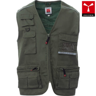 gilet pocket uomo ARMYGREEN