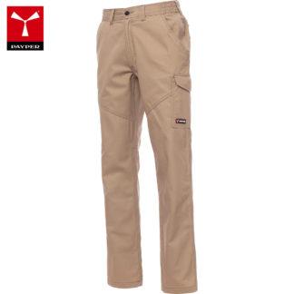 pantaloni worker unisex KHAKI