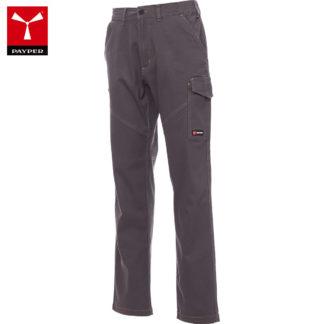 pantaloni worker stretch uomo SMOKE