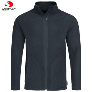 pile uomo activefleecejacket BLUEMIDNIGHT