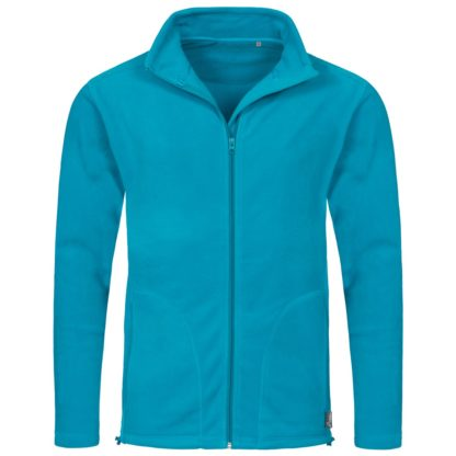 pile uomo activefleecejacket HAWAIIBLUE