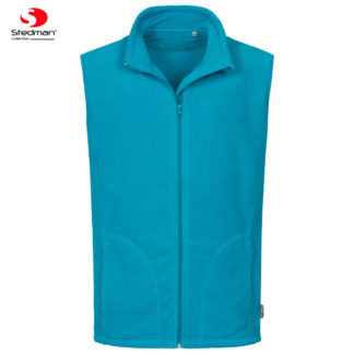 pile uomo activefleecevest HAWAIIBLUE