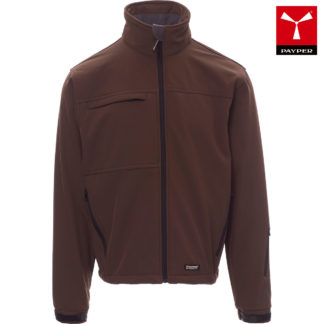 softshell alaska uomo brown