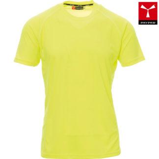 tshirt tecnica runner uomo FLUOYELLOW
