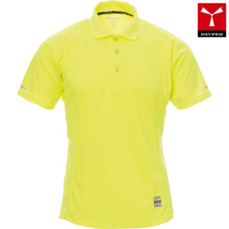 tshirt tecnica training uomo YELLOWFLUO