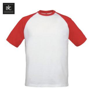 tshirt uomo baseball whitered wn903