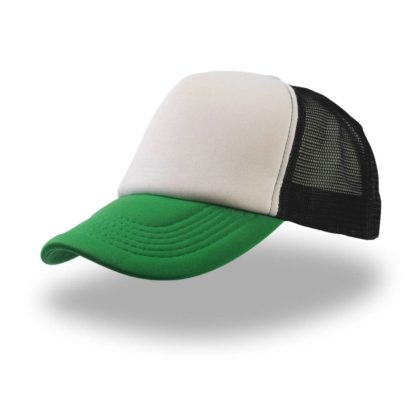 cappellino-ATLANTIS-rapper-whitegreen