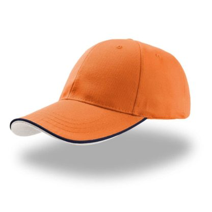 cappellino-ATLANTIS-zoompipingsandwich-orange