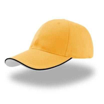 cappellino-ATLANTIS-zoompipingsandwich-yellow