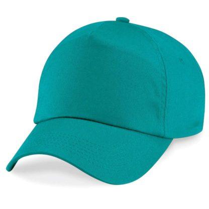 cappellino-BEECHFIELD-original5panelcap-emerald