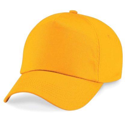 cappellino-BEECHFIELD-original5panelcap-gold