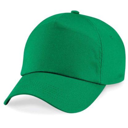 cappellino-BEECHFIELD-original5panelcap-kellygreen