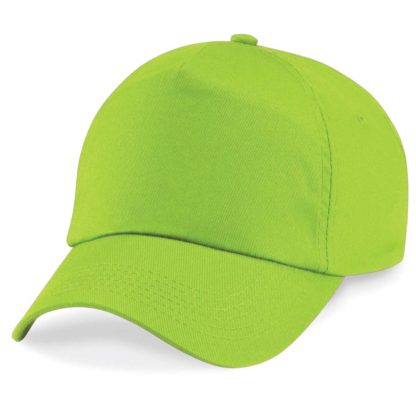 cappellino-BEECHFIELD-original5panelcap-limegreen