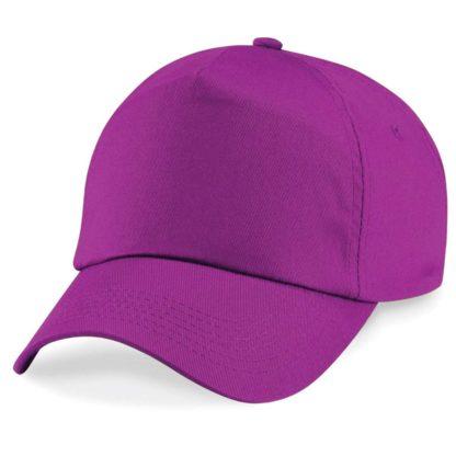cappellino-BEECHFIELD-original5panelcap-magenta