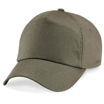 cappellino-BEECHFIELD-original5panelcap-olivegreen