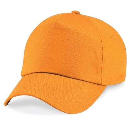 cappellino-BEECHFIELD-original5panelcap-orange