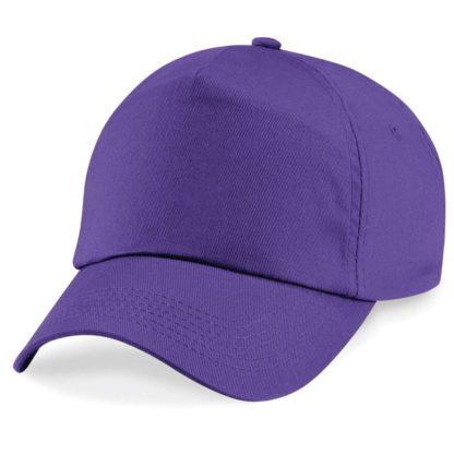 cappellino-BEECHFIELD-original5panelcap-purple