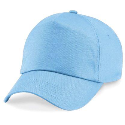 cappellino-BEECHFIELD-original5panelcap-skyblue