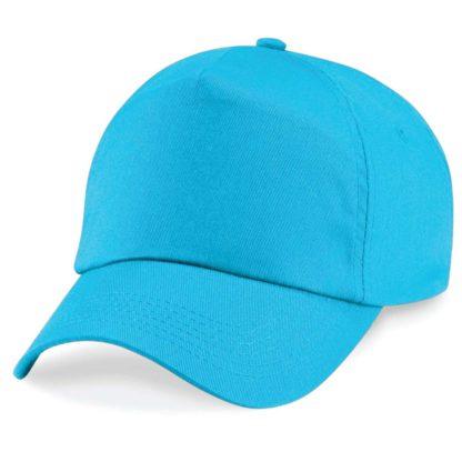 cappellino-BEECHFIELD-original5panelcap-surfblue