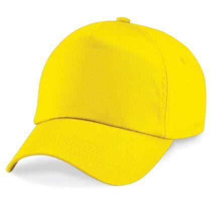 cappellino-BEECHFIELD-original5panelcap-yellow