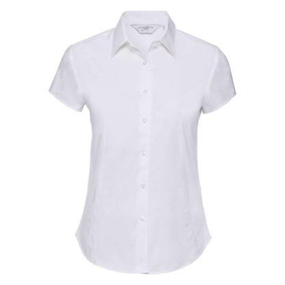 donna-camicia-ladiesSSfittedshirt-white