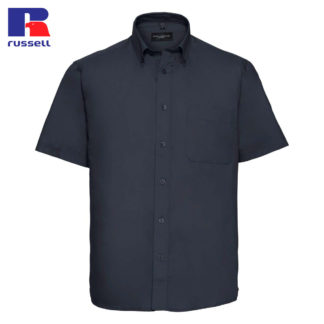 uomo-camicia-menSSclassictwillshirt-frenchnavy