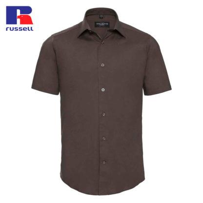 uomo-camicia-menSSfittedshirt-chocolate