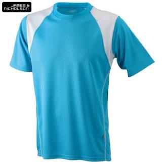uomo-tshirt-sport-runningT-turquoise